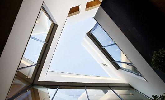 Best Secret House Kuwait Agi Architects Images On Designspiration - The-contemporary-black-and-white-house-by-agi-architects
