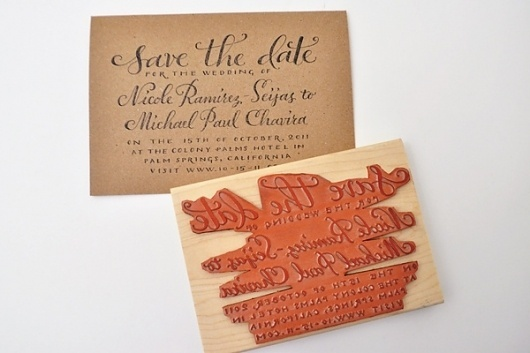 :: plurabelle >> products #invitation #stamp #diy #wedding #stationery #rubberstamp