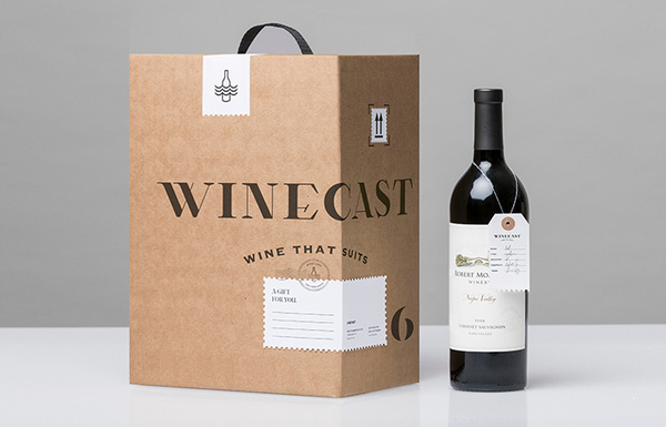 Winecast #packaging #wine #label