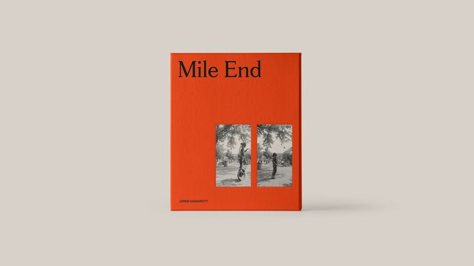 Mile End. A photography book by Jorge Camarotti designed by Maude Paquette. The book can be purchased here.