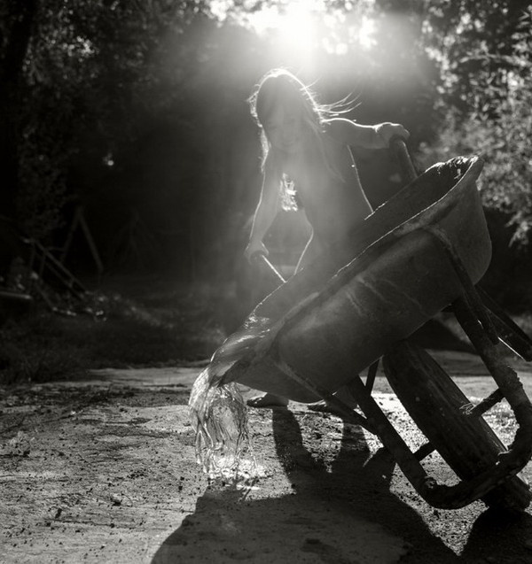 Black and White Children Photography by Alain Laboile #inspiration #white #black #photography #and