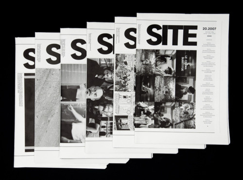 Site Magazine #grid #print