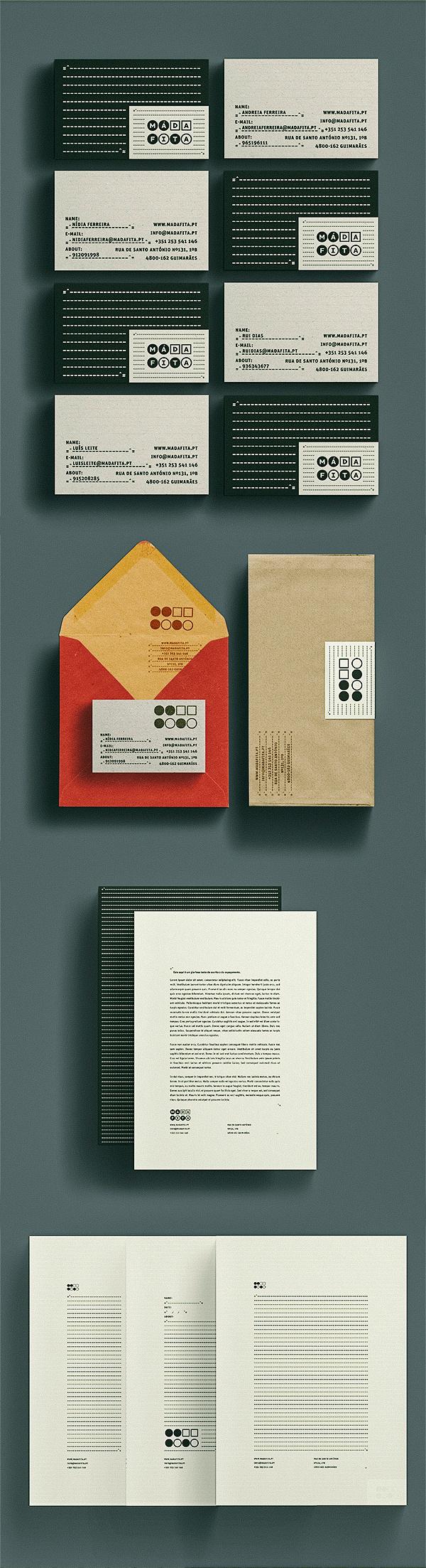 Má da Fita Identity on Branding Served #design