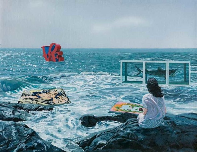 A Floating World: Surreal Acrylic Paintings by Lai Shengyu and Yang Xiaogang