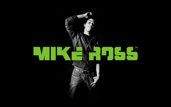 MIKE ROSS - PROFESSIONAL GAMER | LOGO #logo #branding #typography