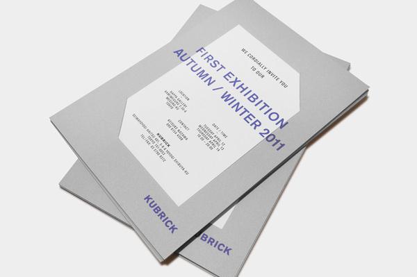 STUDIO NEWWORK #exhibition #invite #print #kubrick