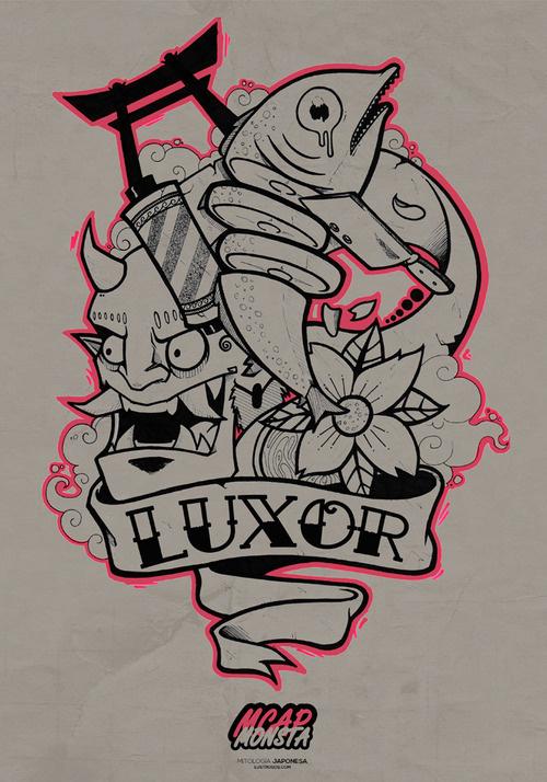 Luxor by Mcapmonsta #illustration #design #art
