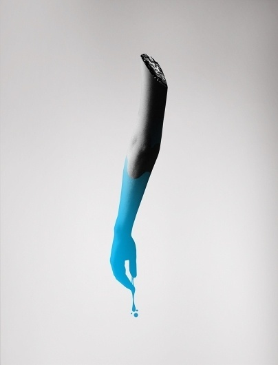 All sizes | 125_Submission | Flickr - Photo Sharing! #white #drips #graphics #cyan #black #paint #designed #blue #dripping #arm #grey