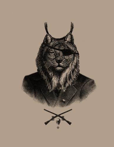 Flickr Photo Download: lynx #guns #lynx #tiger #suit #animal