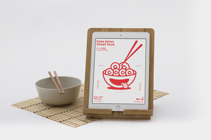Fake Asian Street Food Still-Life Shooting
