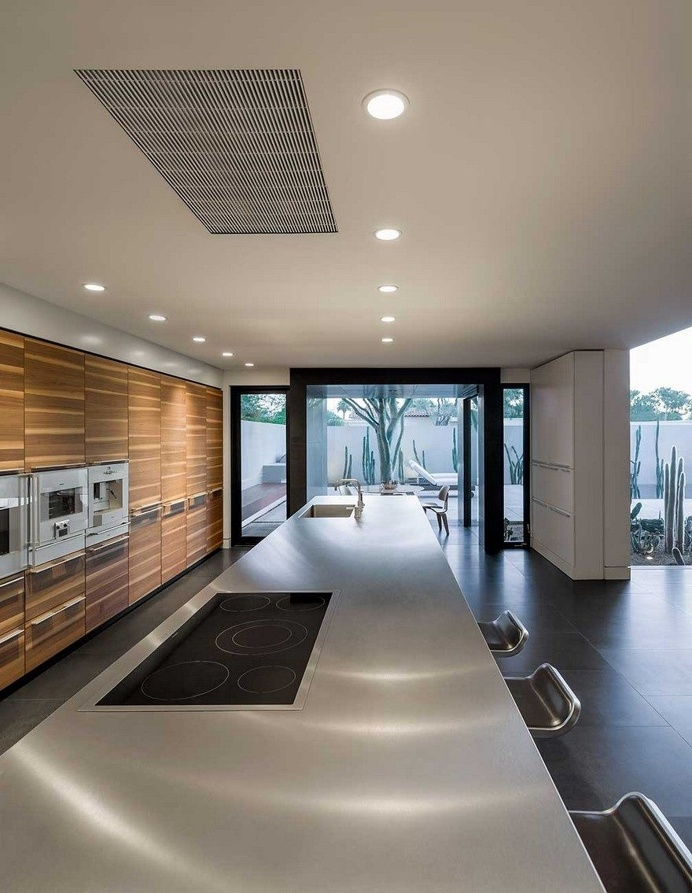 Aperture House is a Ultra-Chic Modern Home with an Entire Back Wall of Glass 5