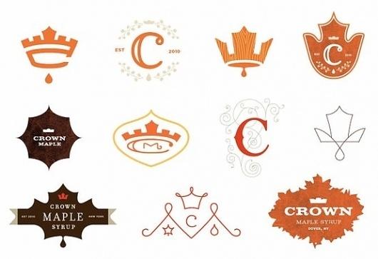 Crown Maple Syrup Logos #logos