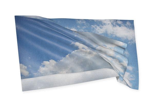 Manuel Bürger, Till Wiedeck, Timm Häneke (DE) #flag #tactile #cloud #sky