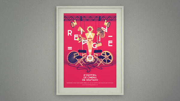 Festival de Cinema de Gramado on Behance #film #photography #typography