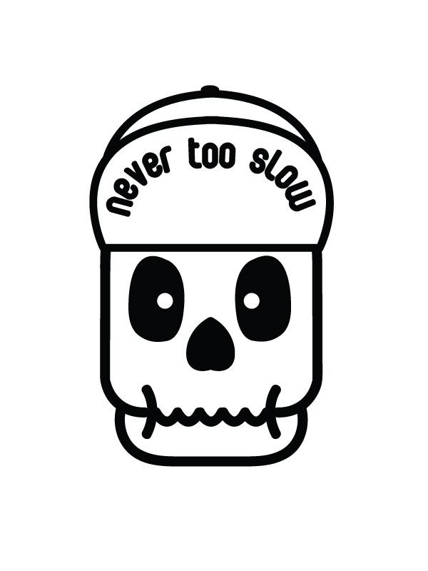 Fixie Skelety #skull #skeleton #character