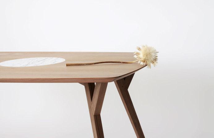 Trees and Rocks by Martín Azúa #minimalist table
