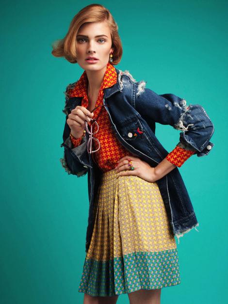 Constance Jablonski by Victor Demarchelier #model #girl #photography #portrait #fashion