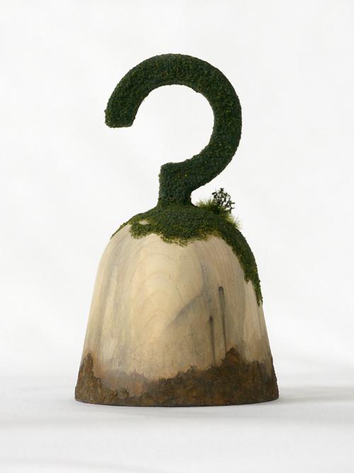 maicoakiba web : 秋葉舞子 portfolio Solid 100 YEARS LATER #sculpture #aged #rust #vintage #moss