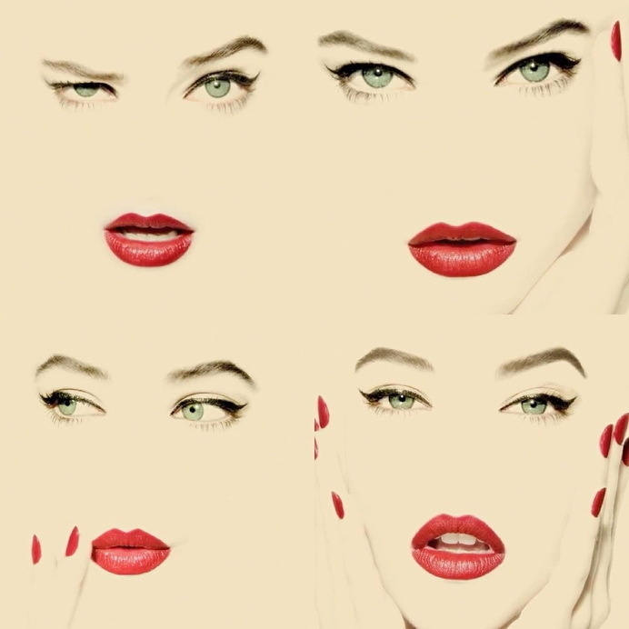 Chanel Rouge Allure - Solve Sundsbo inspired by Erwin Blumenfeld #fashion #photography #chanel