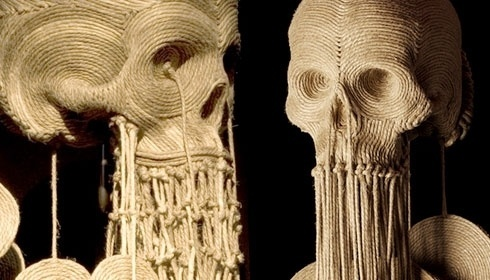 Google Image Result for http://www.flore-music.com/wp-content/uploads/creepy_skull_sculptures-by-jim-detail.jpg #jim #skull #sculpture