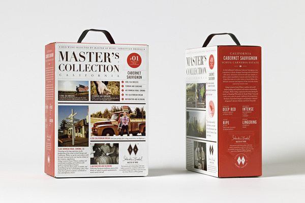 Master's Collection www.olssonbarbieri.com #package #boxed #wine