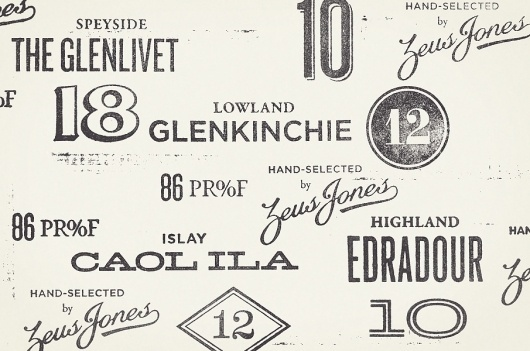 The Design Repository of Brad Surcey #stamp #jones #proof #alcohol #whisky #zeus