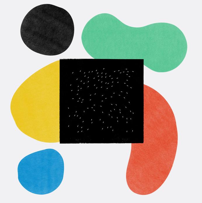 Stephen Simmonds - Martin Nicolausson #abstract #album #blob #color #simple #paint #art