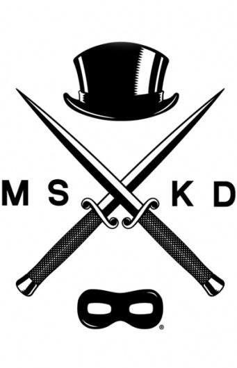 MASKED CLOTHING — Knife Life (White) (Womens) #heritage #white #cross #black #illustration #logo