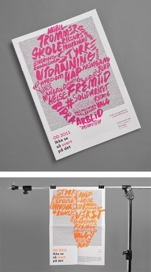 The Inspiration Grid : Design Inspiration, Illustration, Typography, Photography, Art, Architecture & More #pink #print #design #book #type #typography