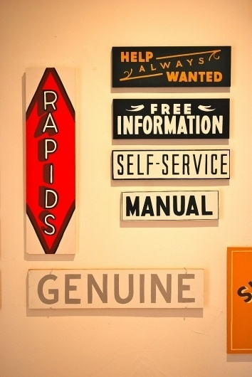 All sizes | Caitlyn Galloway & Corinne Matesich | Flickr - Photo Sharing! #sign #type #painting #typography