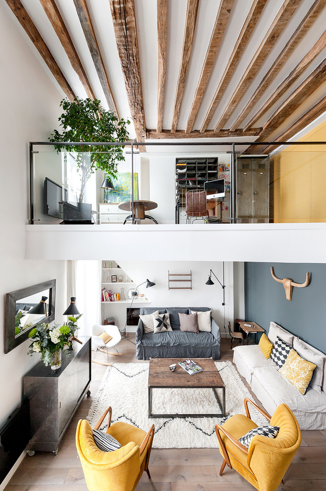 Living room, apartment, working space