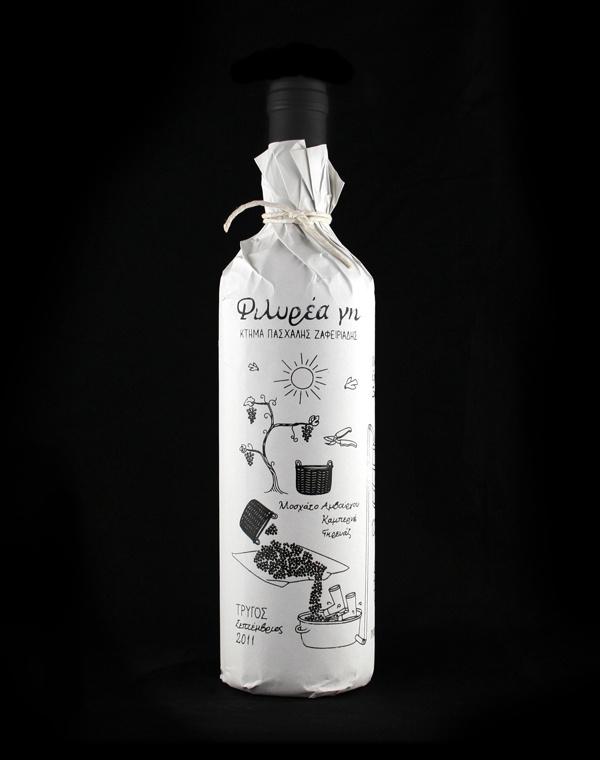 Tumblr #packaging #illustration #wine