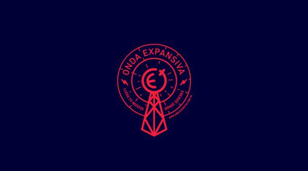 Onda Expansiva Radio ID #logo #design #branding
