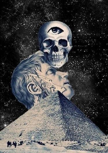Value Skull, Pyramid, and Eye