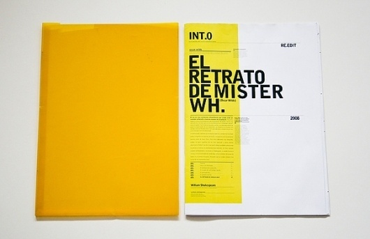 Oscar_Wilde_Retrospective on the Behance Network #editorial