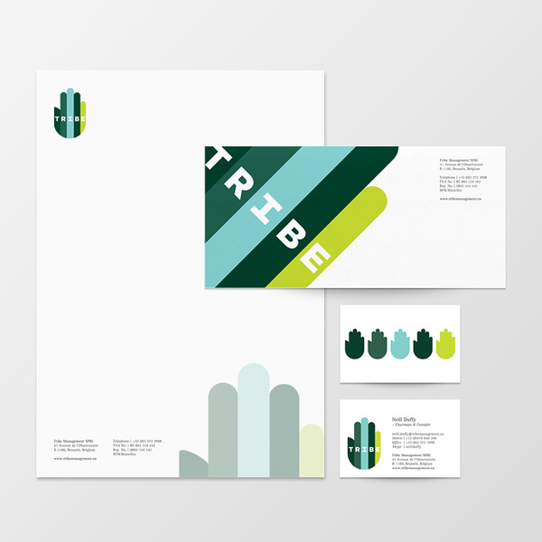 Tribe Velcro Suit The Graphic Design and Illustration of Adam Hill #branding