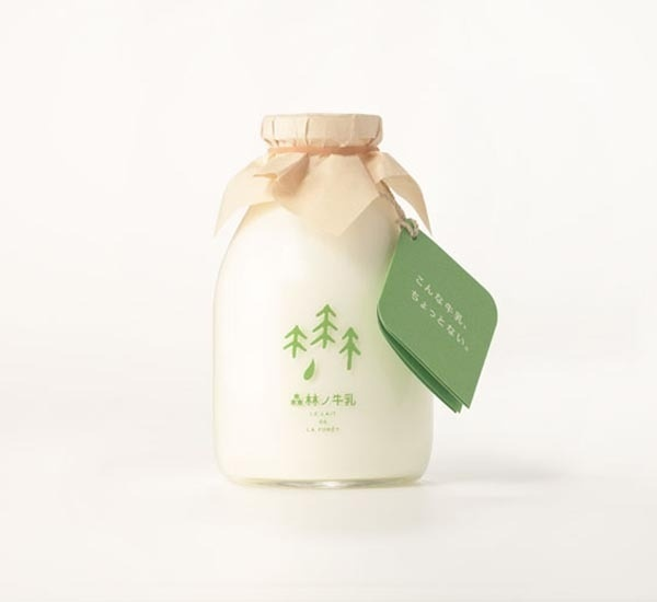 Forest Milk - Packaging Design #packaging