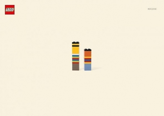 LEGO: Ernie and Bert | Ads of the World™ #lego #print #bert #ad #and #ernie