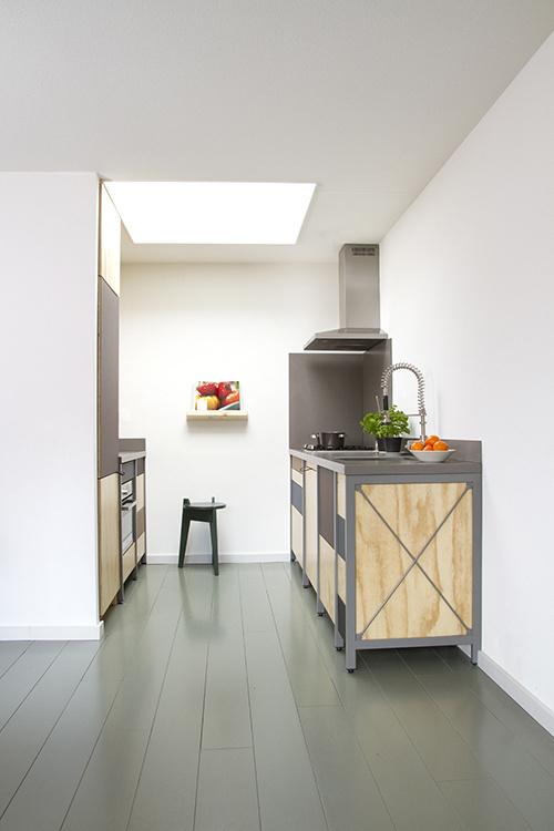 Constructive Kitchen by Studio Mieke Meijer #kitchen #minimal