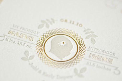 goldfoil2 #print #letterpress