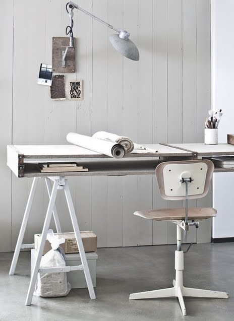 working space – vtwonen magazine #inspiration #office #place #home #work