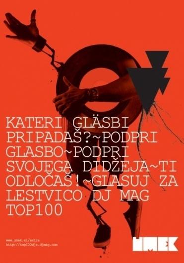 DJ Mag 09 | vbg.si - creative design studio #music #poster