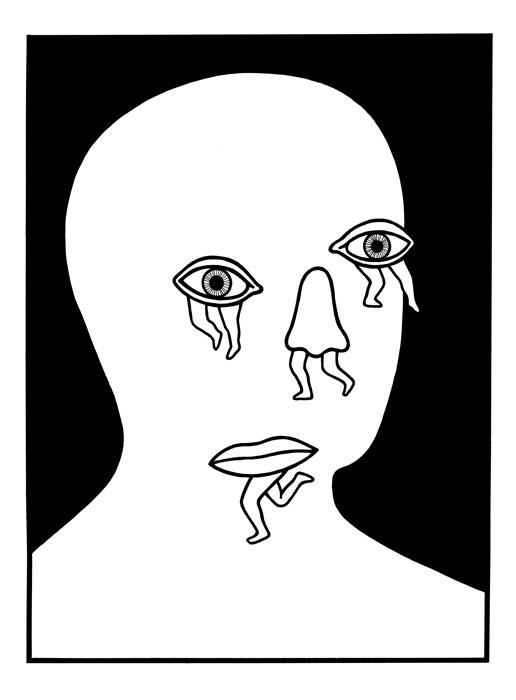 Tumble, Tumble: Photo #illustration