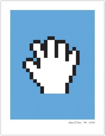 PAN HAND | Susan Kare Prints