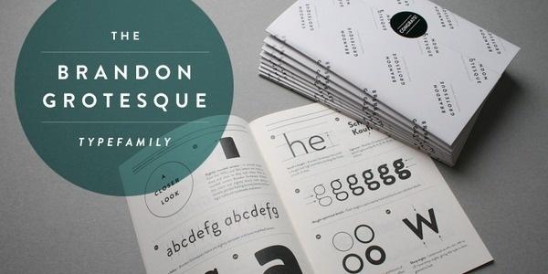 Brandon Grotesque #typography