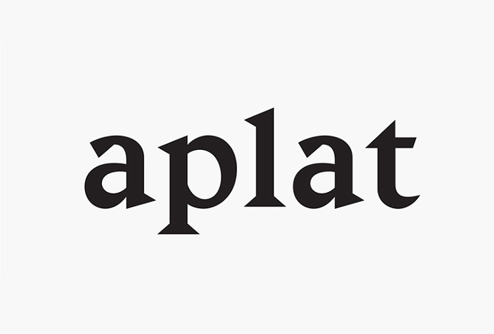 Aplat by Anne Sylvestre #logotype