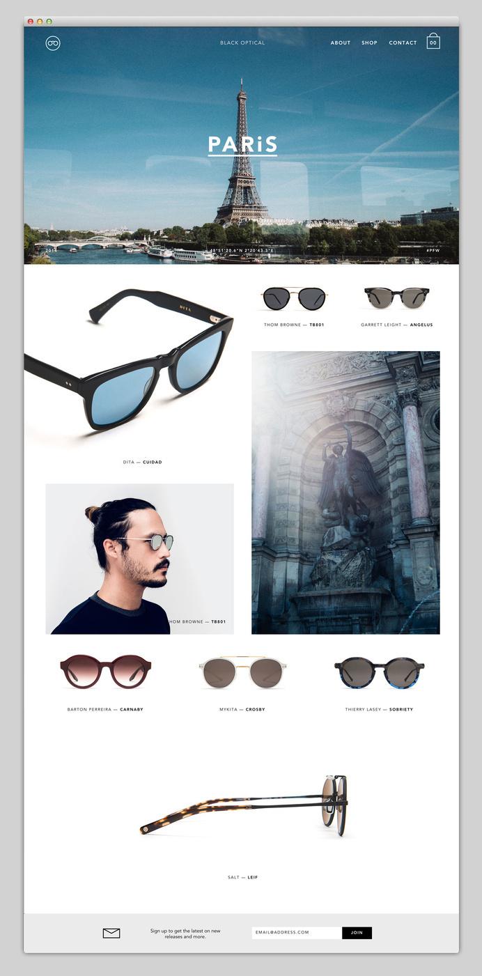 Websites We Love — Showcasing The Best in Web Design #paris #design #web #websites