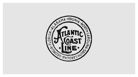 Railroad company logo design evolution #railroad #logo #vintage