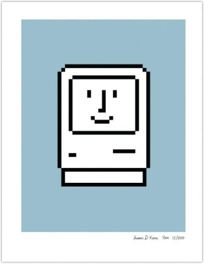 smiling-computer-blue.png (441×569) #print #apple #kare
