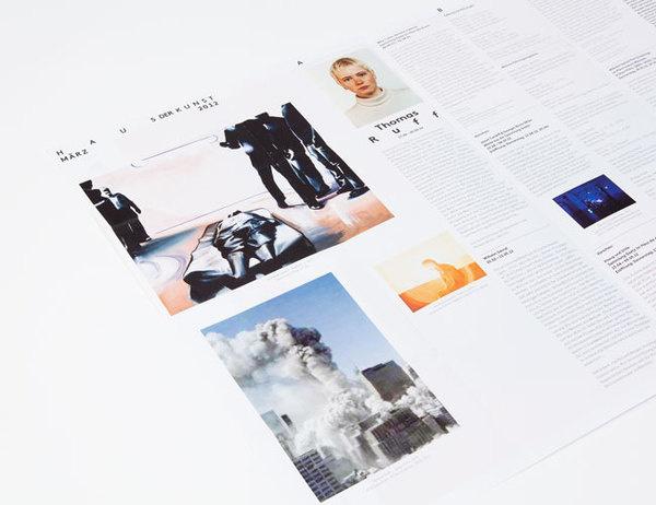 Haus der Kunst brand identity #design #graphic #identity